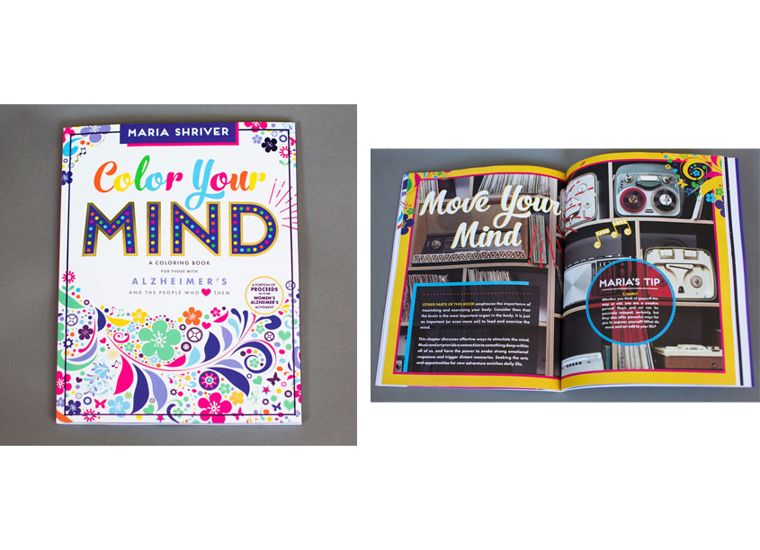 Blue Star Press, LLC Color Your Mind: A Coloring Book for Those With Alzheimer's And The People Who Love Them