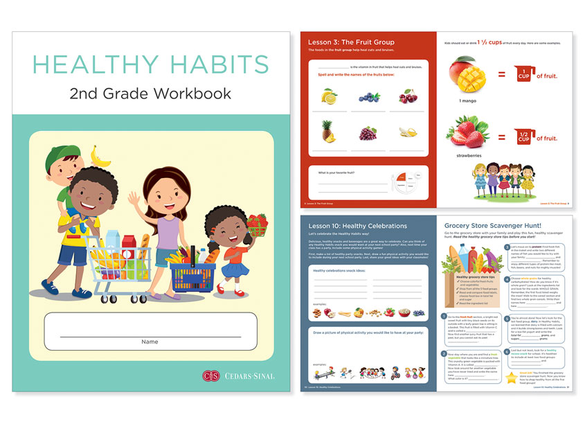 Ginevra Design Healthy Habits 2nd Grade Workbook