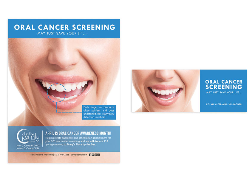 Tortuga Creative Services, LLC Oral Cancer Screening Campaign