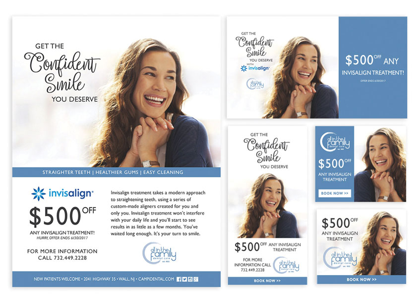 Tortuga Creative Services, LLC Invisalign Treatment Social Media Campaign