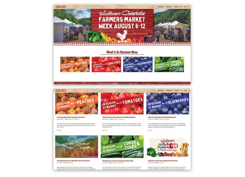 Centermost Marketing Sullivan Catskills Farmers Markets Website