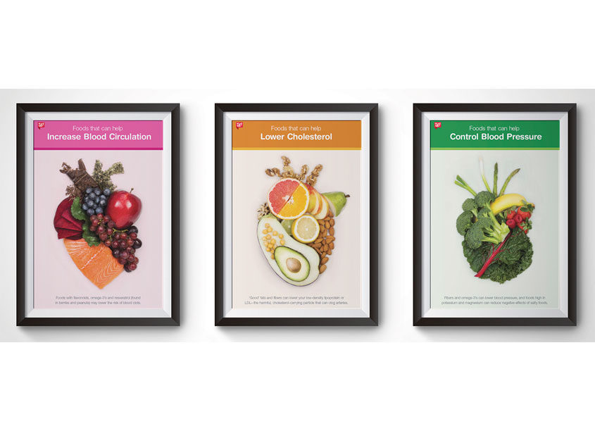 Walgreens Healthy Heart Poster Series