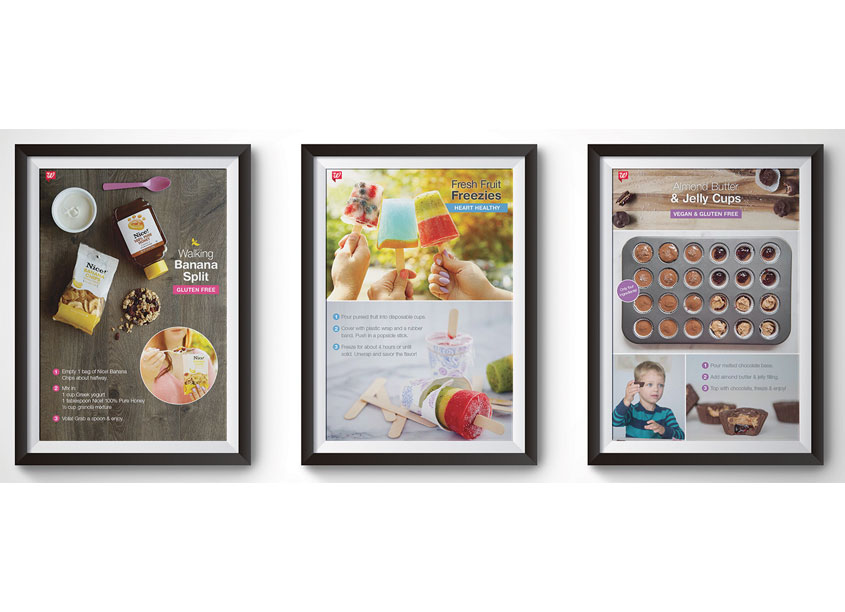 Walgreens Healthy Recipes Poster Series