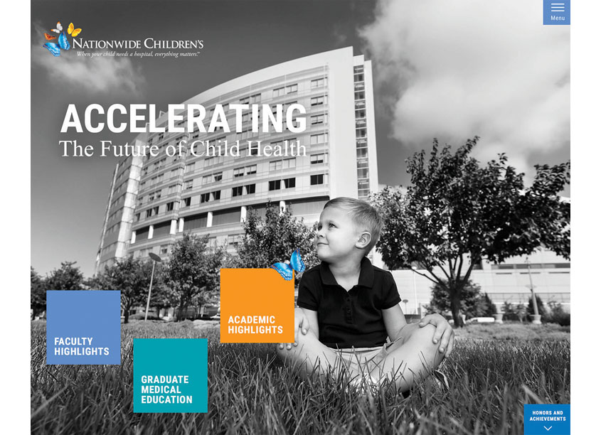 Nationwide Children's Hospital Annual Report 2015-16 Microsite