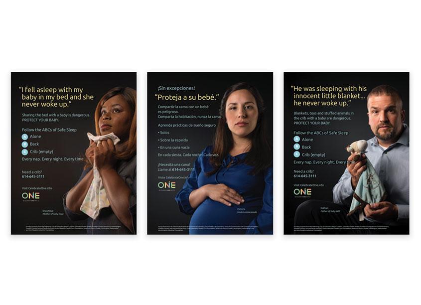 Paul Werth Associates CelebrateOne Campaign Posters