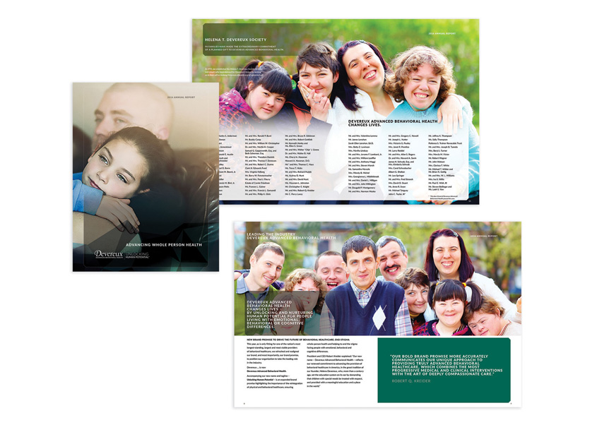 The Barber Gale Group 2016 Devereux Annual Report - Advancing Whole Person Health