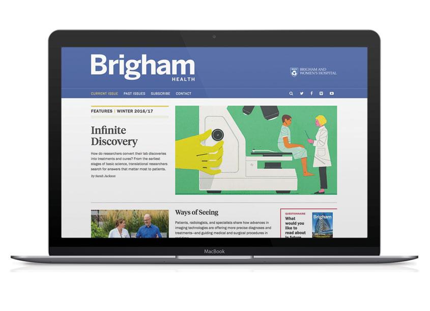 Taylor Design Brigham Health Magazine