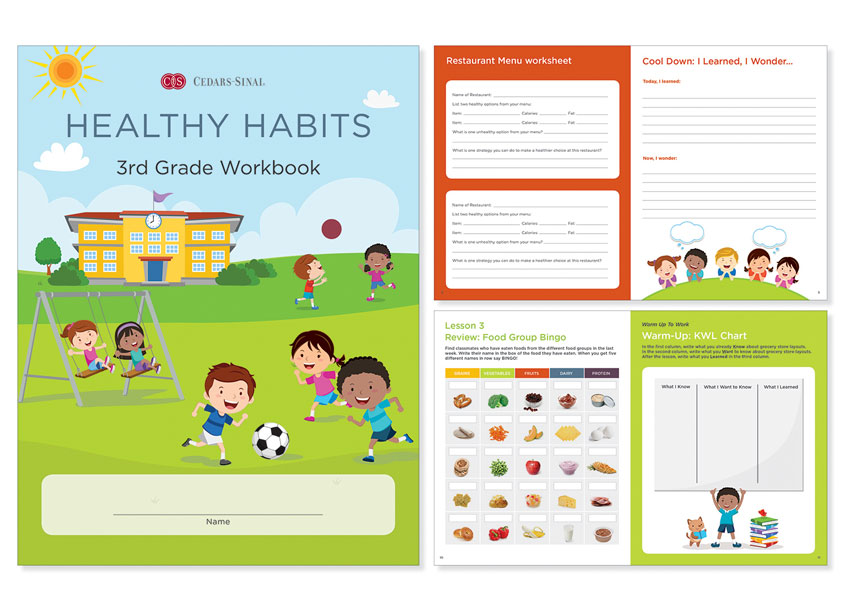 Ginevra Design Healthy Habits 3rd Grade Workbook