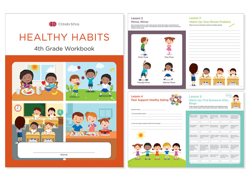 Ginevra Design Healthy Habits 4th Grade Workbook