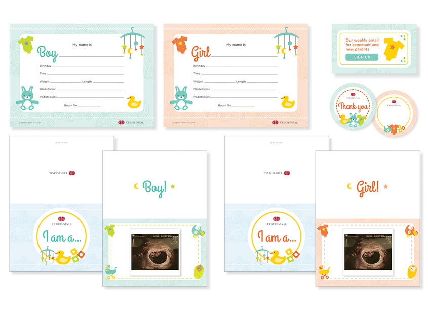 Ginevra Design OBGYN Signs Cards Banner Stickers Series