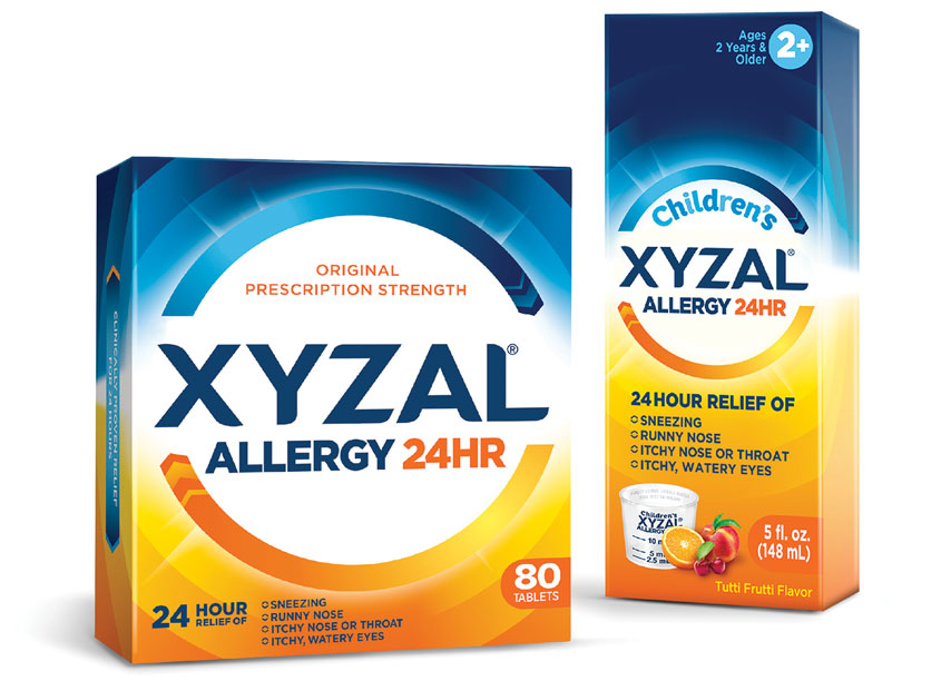 LAM Design Xyzal Allergy Brand Introduction