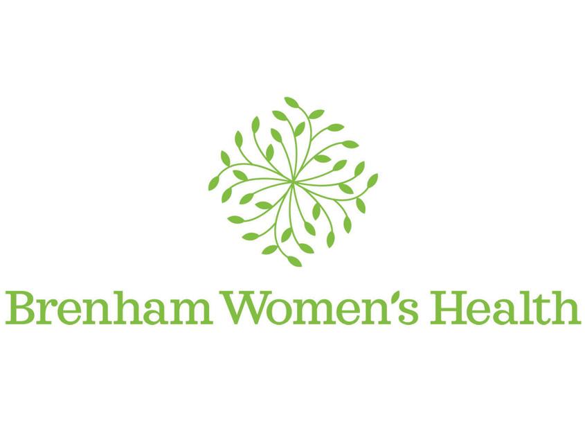 Nancy Reed Design Brenham Women's Health Logo