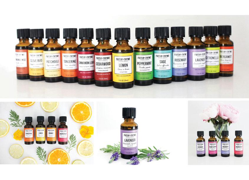 The Creative Pack LLC Fresh Thyme Essential Oils Range
