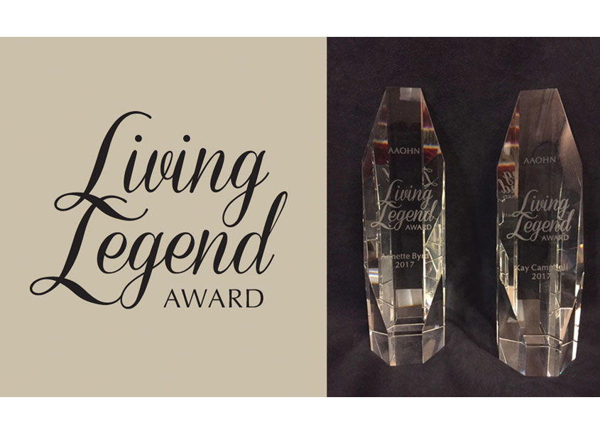 American Association of Occupational Health Nurses Living Legend Award Logo