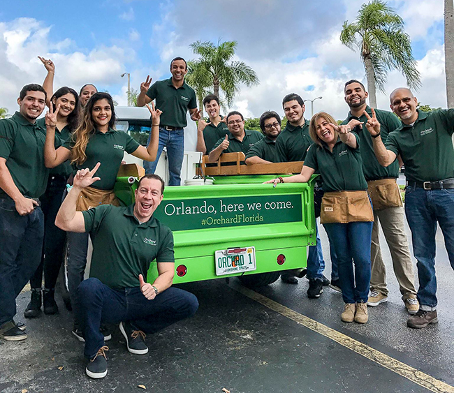 ORCHARD TRUCK AND TEAM