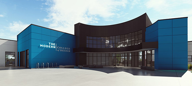 THEMODERNCOLLEGEOFDESIGN_ENTRANCE