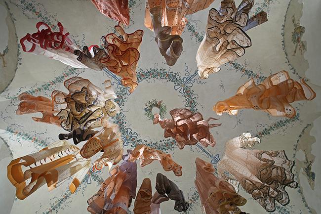 Life of Jamdani, 5% waste Indian muslin textile making (India and Los Angeles, California, 2003ñongoing). Project partners: Rajka Designs; Devi Export. Photo: Mark Schooley