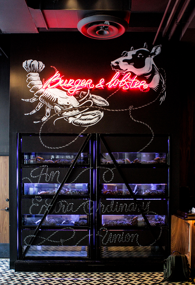 BURGER LOBSTER 10