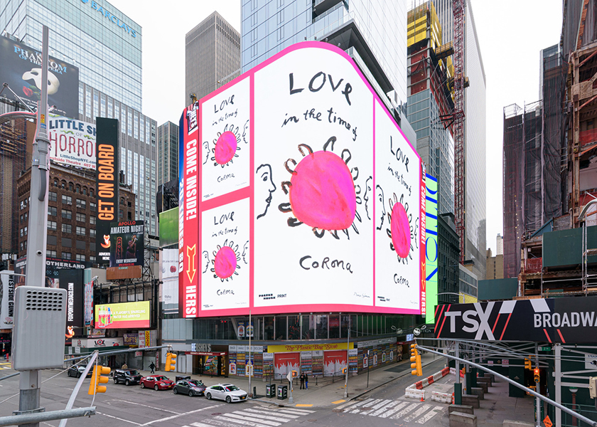 TIMES SQUARE FEATURE