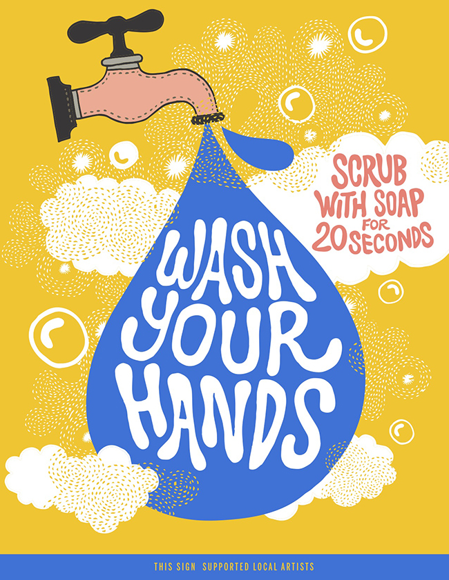 HAND WASHING FOR 20 SECONDS BY JAY CRUM